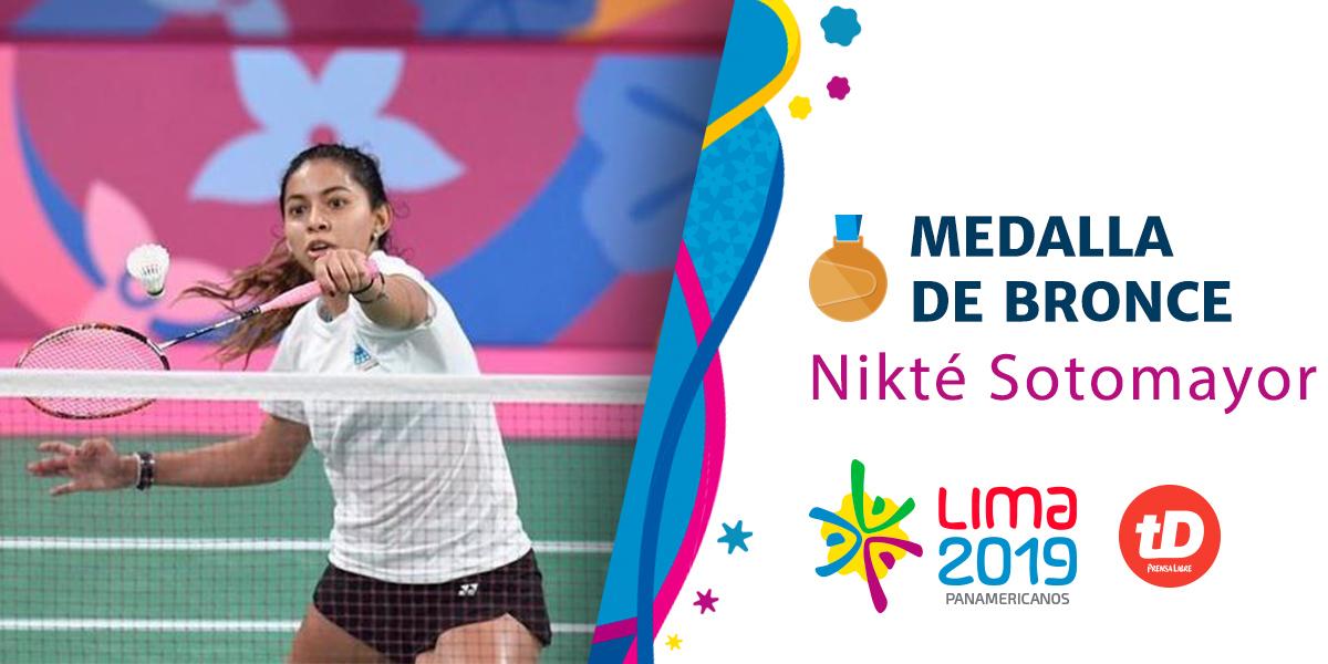 Nikté Sotomayor pierde en semifinales y se queda con la  medalla de bronce