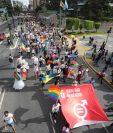 Guatemala celebra la diversidad para vencer al odio. (Foto Prensa Libre: Óscar Rivas)