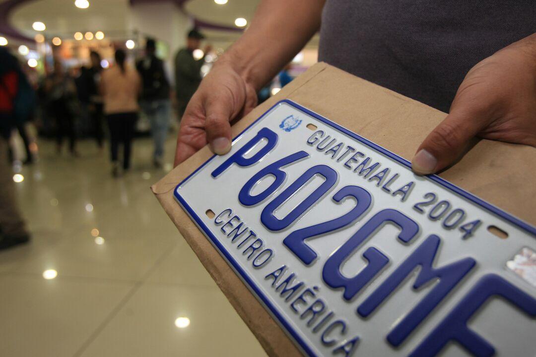 ¿Cuándo habrá placas metálicas de nuevo en Guatemala?
