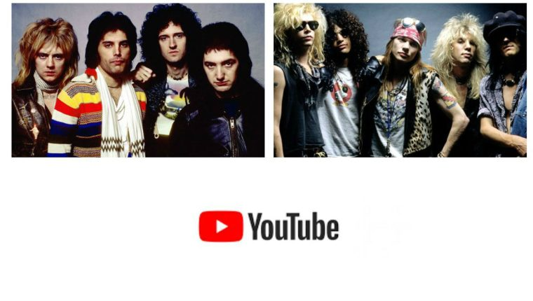 """Bohemian Rhapsody"" de Queen rebasó récord de ""November Rain"" de Guns N 'Roses. (Foto Prensa Libre: Hemeroteca PL)"