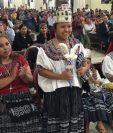 Dilcia Fabiola Xol Tux,, representante de Santa María Cahabón, Alta Verapaz es la nueva Rabin Ajaw 2019. (Foto Prensa Libre: Eduardo Sam)