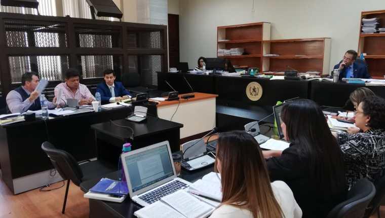 La audiencia de reforma y revisión al procesado Raúl Osoy comenzó el miércoles recién pasado. (Foto Prensa Libre: Kenneth Monzón)
