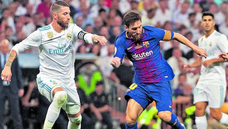El Real Madrid y el FC Barcelona son los granges referentes del futbol español. (Foto Prensa Libre: Hemeroteca PL)
