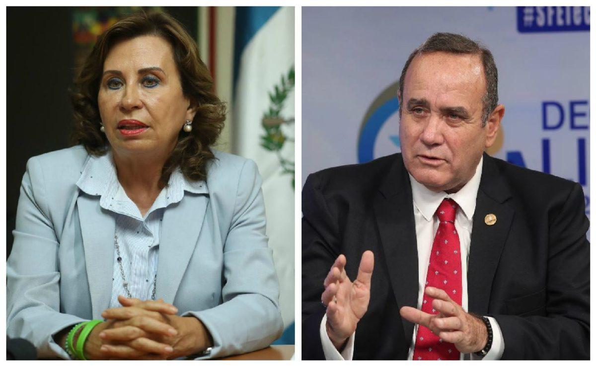 A un mes de las elecciones Torres y Giammattei buscan el voto conservador urbano