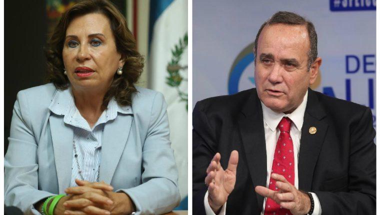 El nuevo presidente de Guatemala se definirá el 11 de agosto entre Sandra Torres, presidenciable de la Une, y  Alejandro Giammattei de Vamos. (Foto Prensa Libre: Hemeroteca PL)