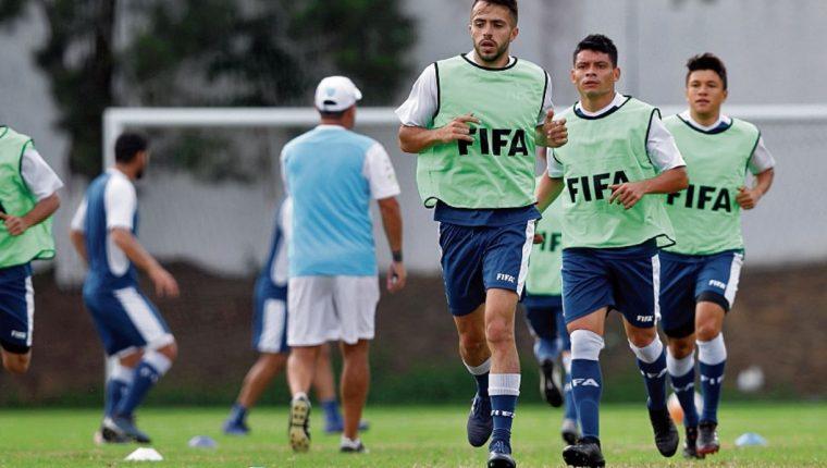 el combinado guatemalteco se prepara para disputar la Liga de Naciones C de la Concacaf. (Foto Hemeroteca PL).