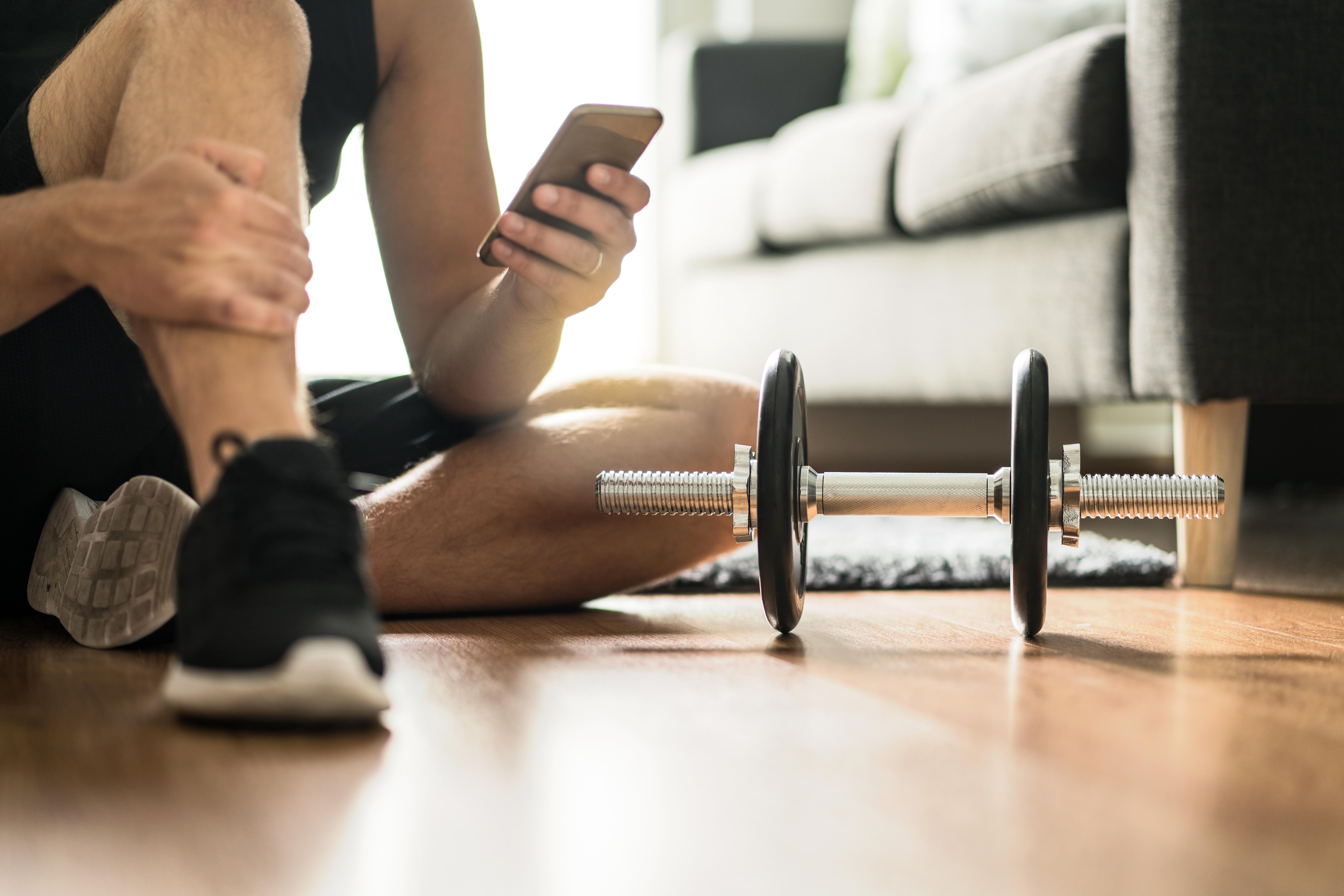 Ejercicios mantenerse en forma en casa