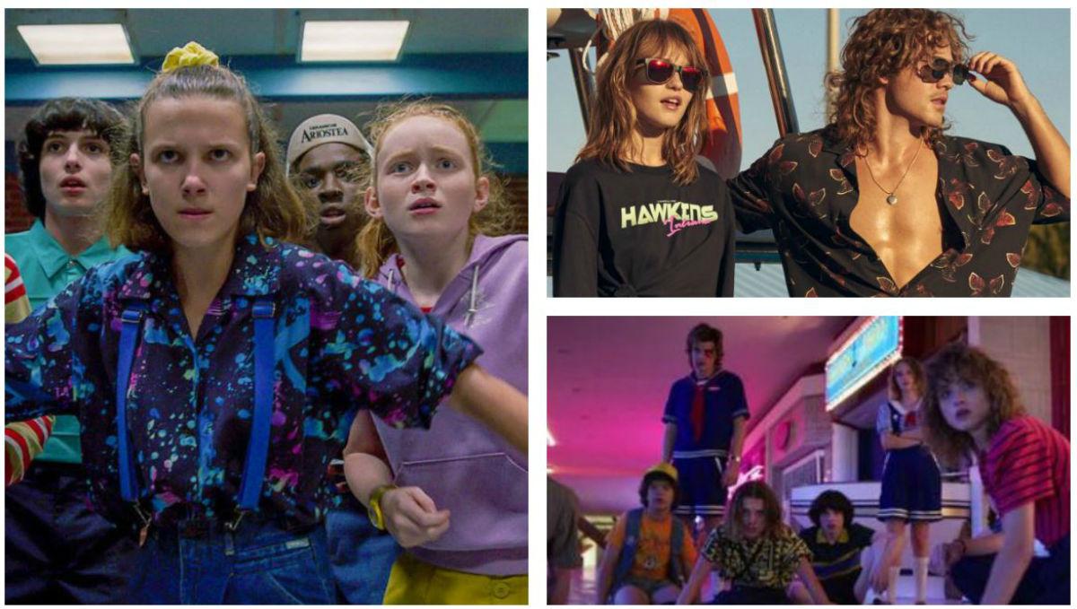 """""""Stranger Things"""" y Netflix invaden la escena de la moda"""