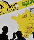 El Tour de Francia se realizará del 6 al 28 de julio próximo. (Foto Prensa Libre: AFP).