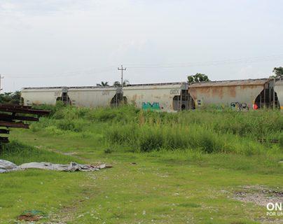 Las instalaciones del anterior Ferrocarril del Sureste. (Foto Prensa Libre: Cortesía ONU-Habitat)