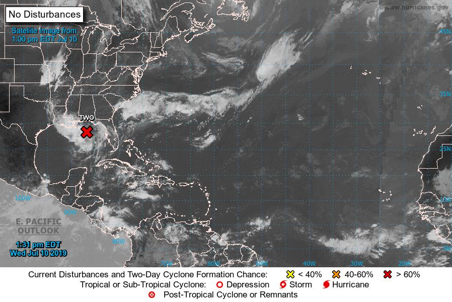 Luisiana declara estado de Emergencia ante llegada de tormenta tropical