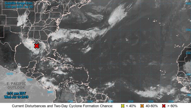 Resultado de imagen para Nueva Orleans se prepara para afrontar una tormenta tropical