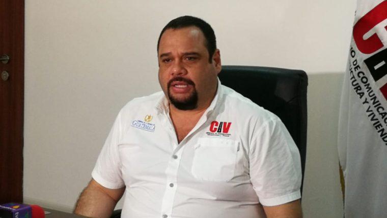 José Benito, ministro de Comunicaciones Infraestructura y Vivienda afirma que el Libramiento de Chimaltenango es un buen proyecto, de difícil construcción por las condiciones del país. (Foto Prensa Libre: Hemeroteca PL)