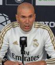 Zinedine Zidane, entrenador del Real Madrid, habló de los partidos amistosos en Estados Unidos. (Foto Prensa Libre: EFE).