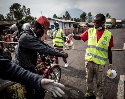 El ébola azota con fuerza a la República Democrática del Congo. (Foto Prensa Libre: AFP)