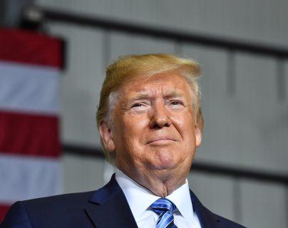 El presidente de Estados Unidos Donald Trump aseguró que su país podría salir de la Organización Mundial de Comercio. (Foto Prensa Libre: AFP)