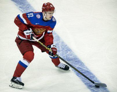 El jugador de hockey ruso Yevgeni Kuznetsov fue suspendido cuatro años por el uso de cocaína. (Foto Prensa Libre: AFP)