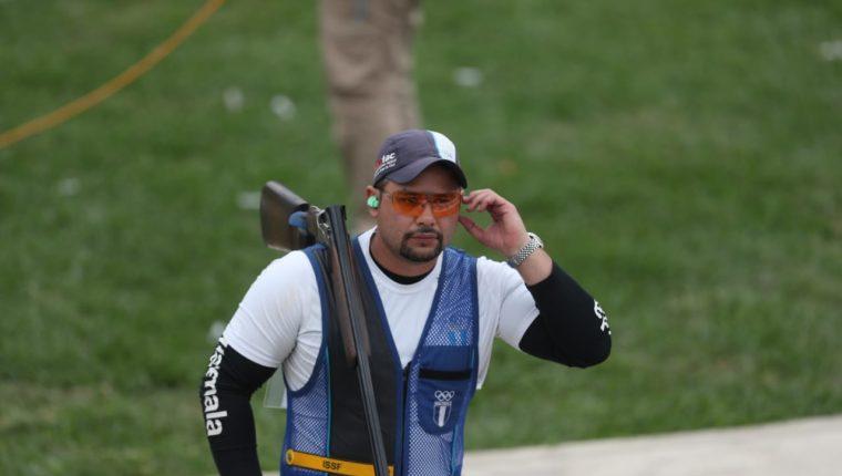 Schaeffer, durante la competencia en los Panamericanos de Lima 2019. (Foto Prensa Libre: Carlos Vicente)