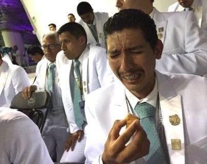 """El evento más importante de la iglesia es la """"santa convocación"""" donde se reparte pan y jugo de uva, para rememorar la última cena. ANA GABRIELA ROJAS"""
