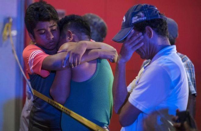 Veracruz ha padecido la violencia de grupos criminales que disputan el control del tráfico de drogas. AFP