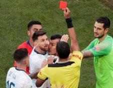 Messi y la Asociación del Fútbol Argentino criticaron repetidamente a la Conmebol. (Foto Prensa Libre: )