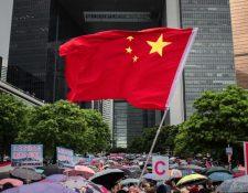 Hong Kong continúa estando sujeta a la presión de China continental.