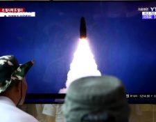 Corea del Norte dice que los lanzamientos de misiles son una advertencia hacia EE.UU. y Corea del Sur. GETTY IMAGES