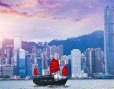 Hong Kong es un importante hub financiero en Asia. GETTY IMAGES