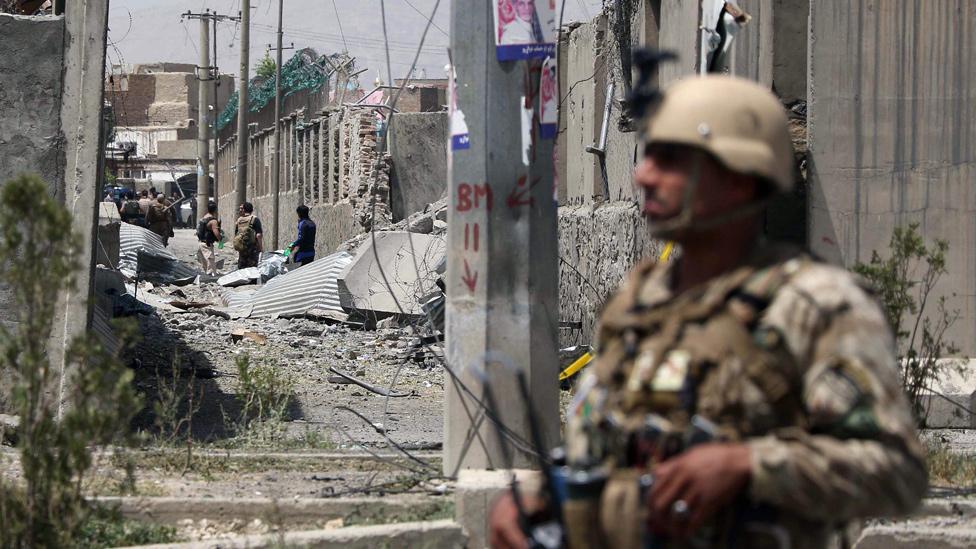 Una enorme explosión en Afganistán deja al menos 18 muertos y cerca de 100 heridos
