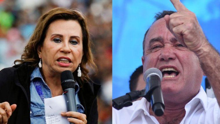 Sandra Torres y Alejandro Giammattei se disputan la presidencia de Guatemala.