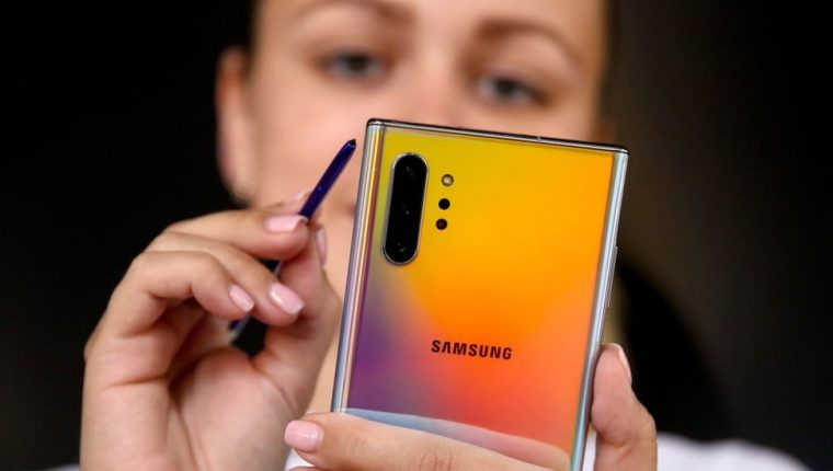 Samsung ha lanzado dos modelos esta semana: el Galaxy Note 10 y el Galaxy Note 10+.