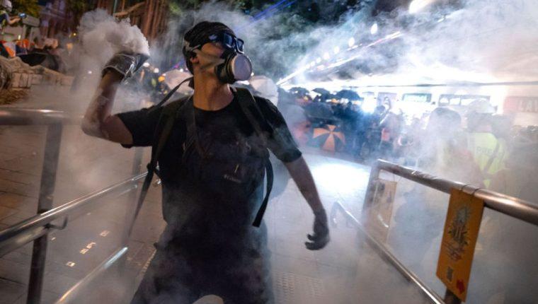 Hong Kong completa 10 semanas de protestas.