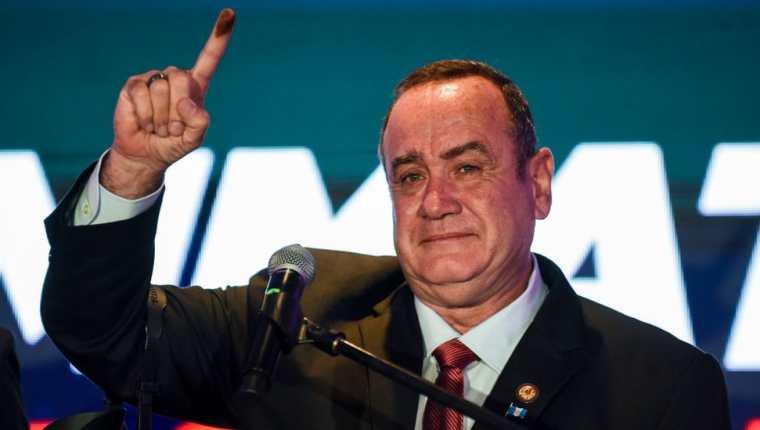 Giammattei es el presidente electo de Guatemala.
