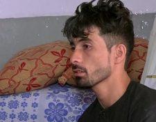 """Mirwais Elmi le contó al canal noticioso Tolo News que """"jamás volveré a conocer la felicidad en mi vida""""."""