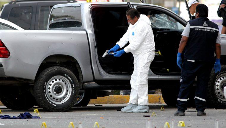 Más de 10 mil personas fueron asesinadas con armas de fuego de EE. UU. este año en México. AFP
