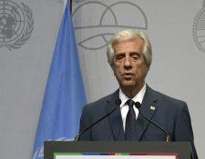 El presidente de Uruguay, Tabaré Vázquez, tiene 79 años.