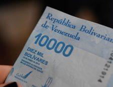 El Banco Central lanzó en junio nuevos billetes mucho más altos que los anteriores.