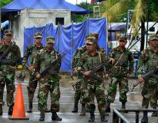 Testigos aseguran que personas con el uniforme del ejército de Nicaragua cruzaron la frontera con Costa Rica