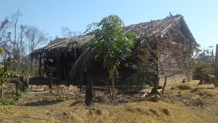 Esta casa fue la primera residencia propia para Eidi y Romildo.