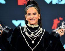 La controversia alrededor de Rosalía va más allá de la premiación de la noche del lunes. GETTY IMAGES