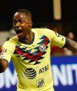 El ecuatoriano Renato Ibarra del Club América se encuentra con problemas legales. (Foto Prensa Libre: AFP)