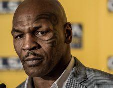 El exboxeador Mike Tyson admitió una de sus formas de hacer trampa.  (Foto Prensa Libre: AFP)