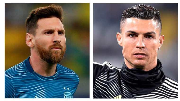 El argentino Leo Messi y el portugués Crisitano Ronaldo han sido los referentes del futbol mundial en los últimos diez años. Foto Prensa Libre: EFE