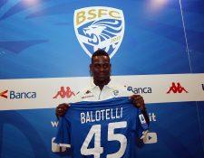 Mario Balotelli, espera ser nuevamente el Super Mario del futbol. (Foto Prensa Libre: EFE)