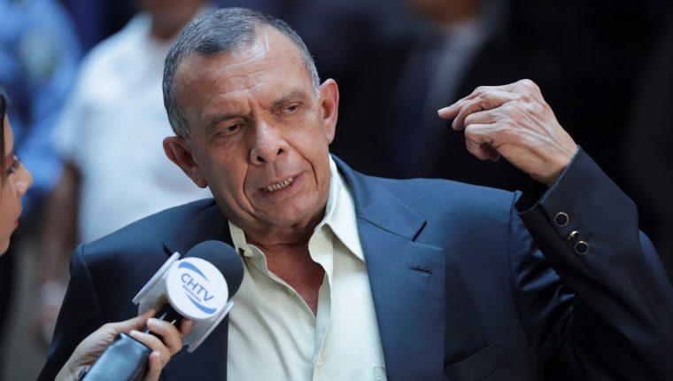 Porfirio Lobo, expresidente hondureño. (Foto Prensa Libre: EFE)