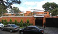 Esta es la casa que ocupó Otto Pérez durante su gestión presidencial. (Foto Prensa Libre: Hemeroteca PL)