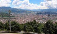 El punto de reunión será en el mirador del cerro El Baúl, que es uno de los lugares donde el grupo de corredores practican el Trail Runners. (Foto Prensa Libre: Archivo