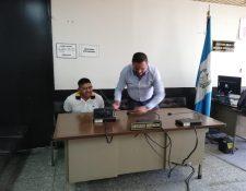 """Carlos Humberto Amaya Martínez, conocido como """"Pingüino"""" fue escuchado por un juez. (Foto Prensa Libre: Kenneth Monzón)"""