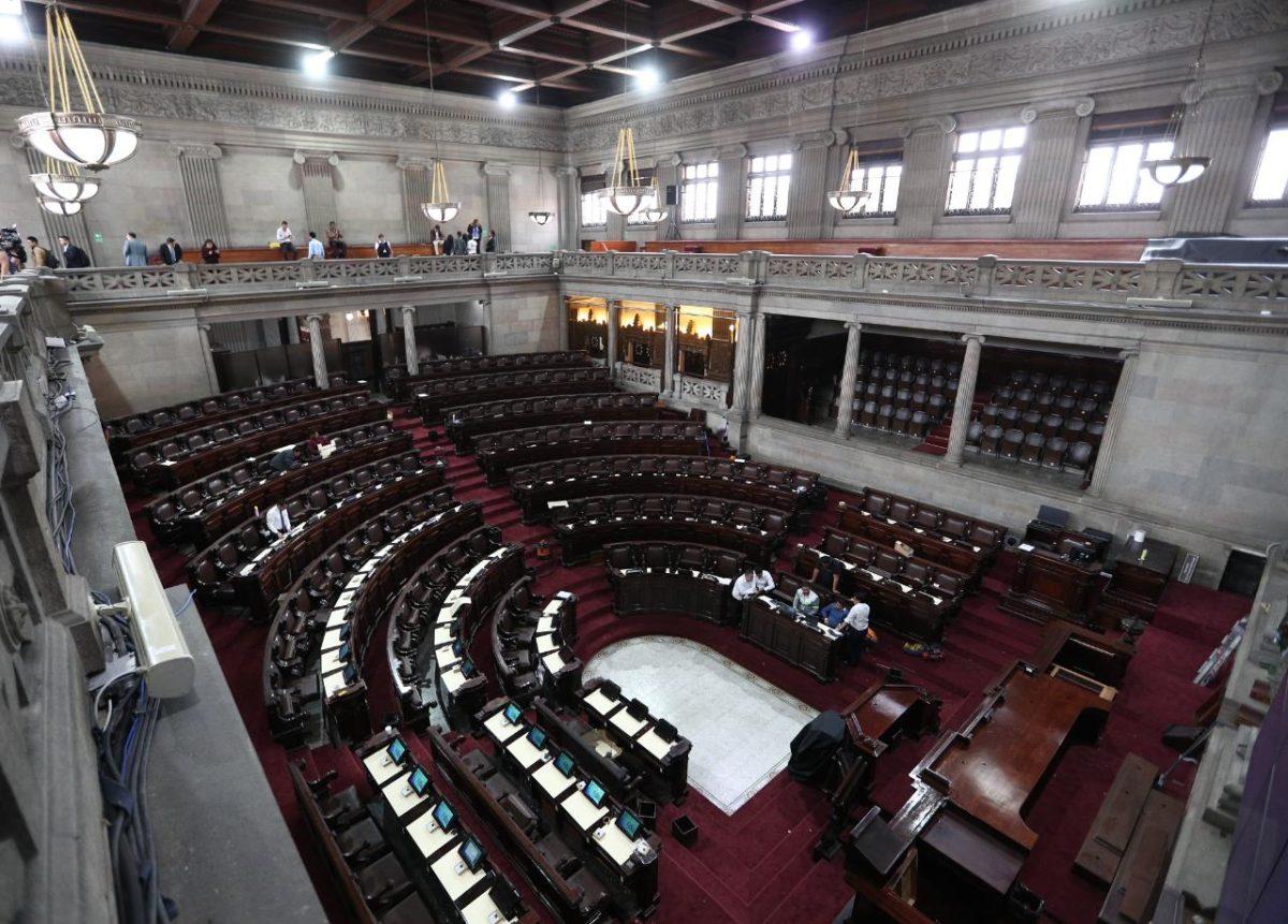 Organismo Legislativo no sesionará durante esta semana por balotaje
