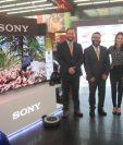 Tiendas Max inauguró su nueva sucursal en carretera a El Salvador y presentó los nuevos modelos de televisores Sony. Foto Norvin Mendoza.